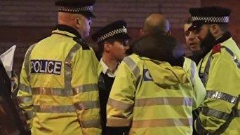 На месте мощного взрыва в центре Лондона. Видео