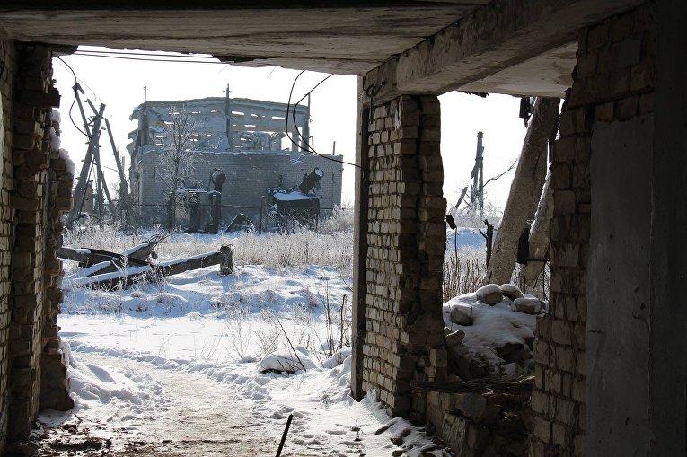 Зона АТО. Все, что осталось от шахты Бутовка