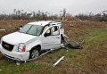 Последствия торнадо в г. Олбани, штат Джорджия, США