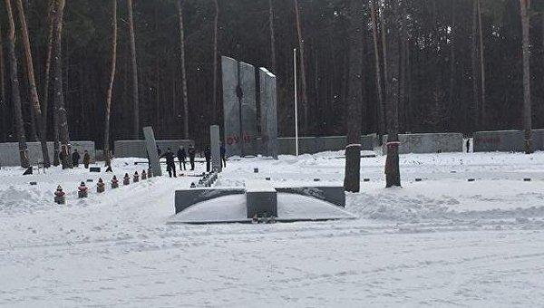 Осквернение польского военного кладбища