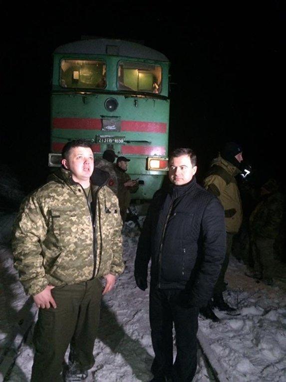 Блокирование движение грузовых поездов в направлении ЛНР
