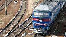 Поезд на путях станции Харьков-Пассажирский. Архивное фото