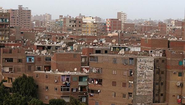 Вид на Каир, Египет