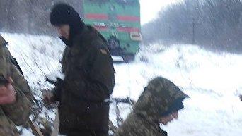 Блокирование ж/д сообщения в Луганской области