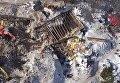 Последствия смертельной лавины в Италии с высоты птичьего полета. Видео