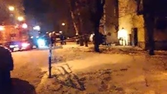 В Сумах гранатой взорвали общедомовой счетчик газа. Видео
