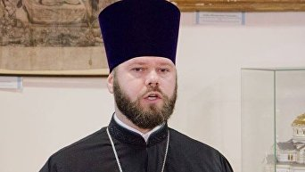 Глава юридического отдела УПЦ, протоиерей Александр Бахов