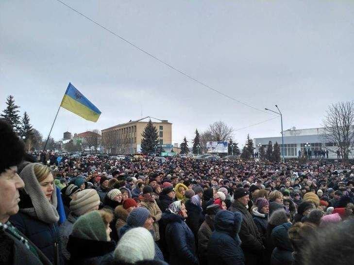 Медицинский Майдан в Винницкой области