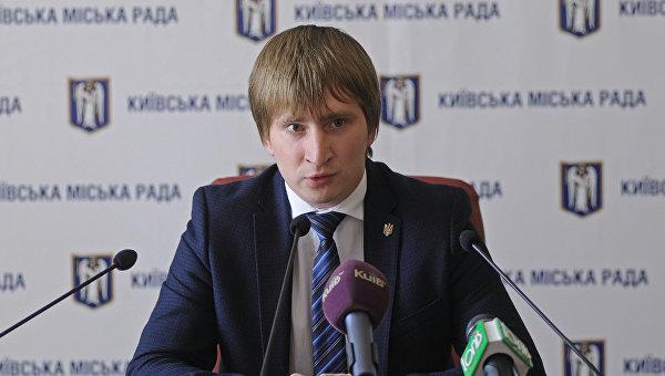 Руководитель аппарата КГГА Владимир Бондаренко