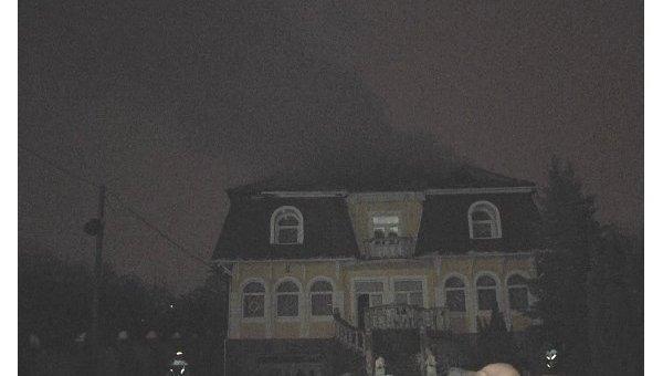 ВЗакарпатье изгранатомета обстреляли дом генерала