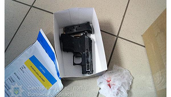 ВЛуцке пытались ограбить банк, милиция применила оружие
