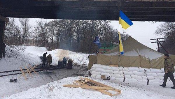 Блокада в Донбассе