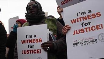 Протесты в Нью-Йорке. Онлайн-трансляция. Видео