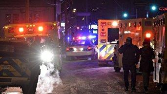 Стрельба в мечети в Квебеке
