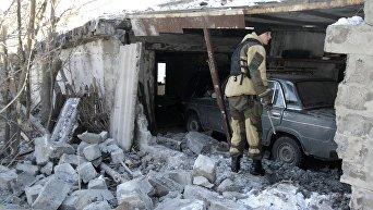 Последствия обстрелов в Донецкой области