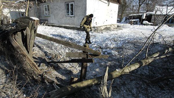 Последствия обстрелов в Макеевке