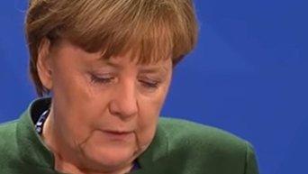 Режима прекращения огня фактически не существует. Меркель о ситуации в Донбассе. Видео