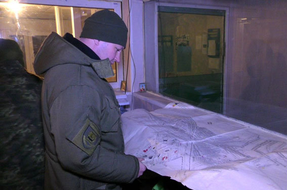 Работа оперативного штаба в Авдеевке