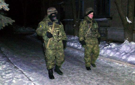 Военные в Авдеевке