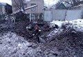 Ситуация после обстрелов в Авдеевке