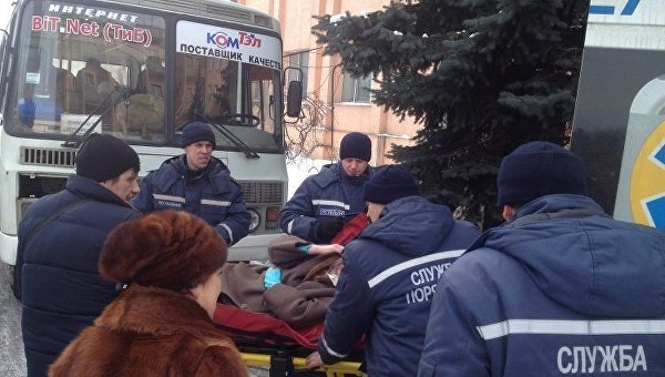 ИзАвдеевки эвакуировано 132 человека— ГСЧС