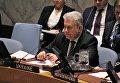 Владимир Ельченко на заседании СБ ООН. Архивное фото