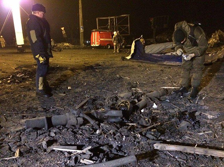 Впроцессе обстрела Донецка два человека погибли и13 получили ранения