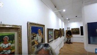 Выставка картин мафиози в Италии