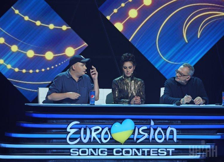 Первый полуфинал национального отбора на Евровидение 2017