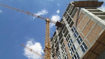 Строительство в Киеве. Архивное фото