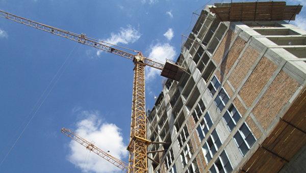 Строительство. Архивное фото