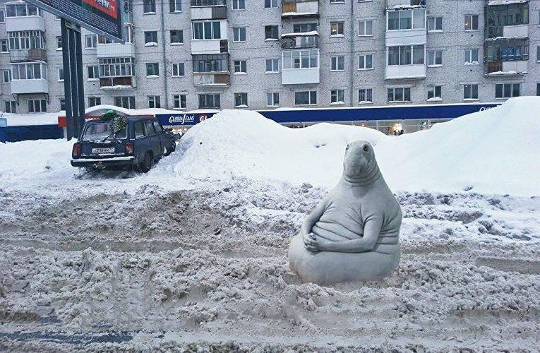 Снег - лучшие фотожабы