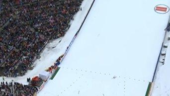 Прыгун с трамплина попал в больницу после прыжка на 200 метров