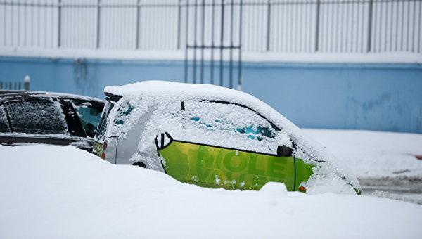 Вгосударстве Украина из-за непогоды ограничено движение транспорта
