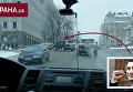 Появилось видео, как джип Кличко нарушает правила в центре Киева. Видео