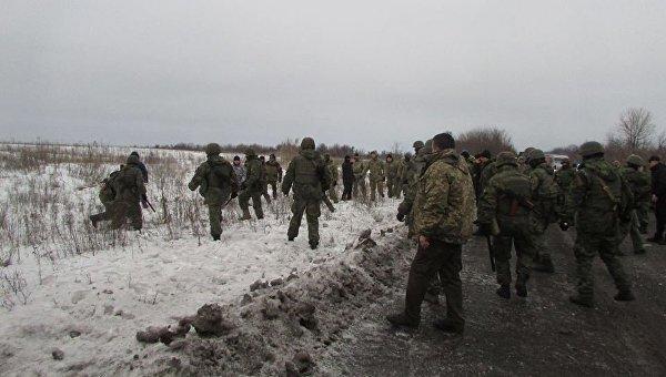 На месте конфликта между участниками торговой блокады Донбасса и полицией. Архивное фото