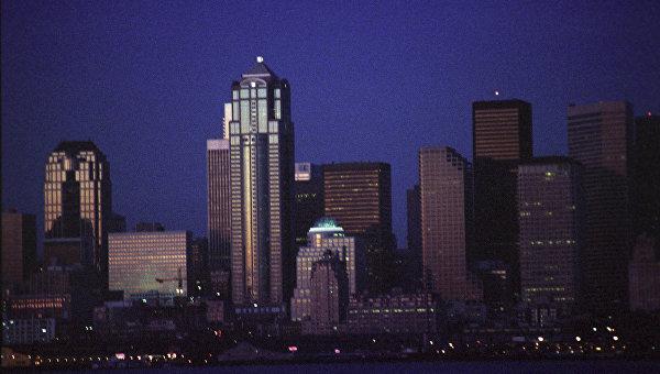 Ночной Сиэтл