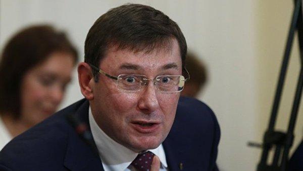 Луценко поведал опланах приверженцев Саакашвили устроить взрыв вРаде