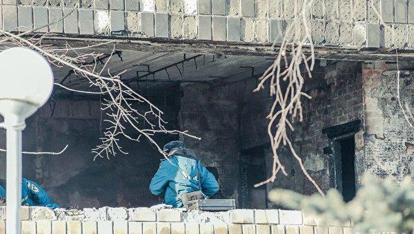 На месте гибели командира батальона ДНР Сомали Михаила Толстых, известного как Гиви
