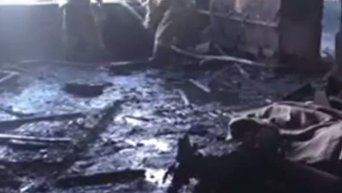 Видео с места гибели Гиви