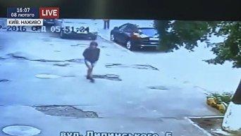 Видео с предполагаемыми убийцами журналиста Шеремета
