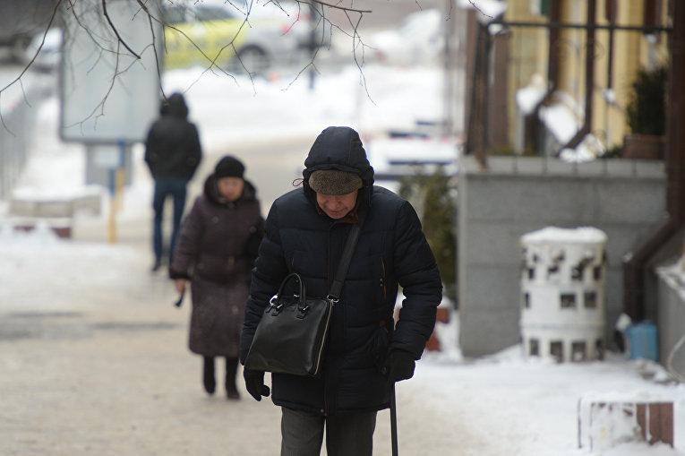 Киев в плену непогоды - в столицу вернулись морозы