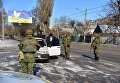 Украинские военнослужащие в Донбассе