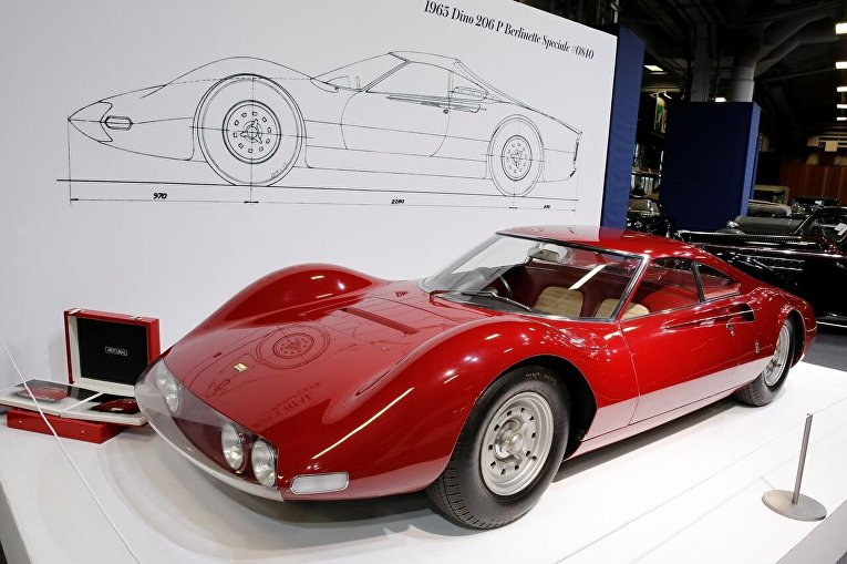 Ferrari 206 P Dino Pininfarina Berlinetta Speciale 1965 г. выпуска