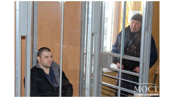 Суд над обвиняемым в убийстве патрульных Александром Пугачевым в Днепре
