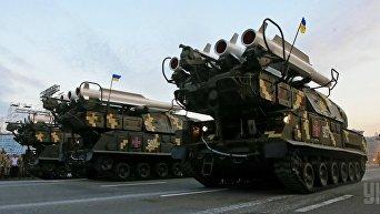 Зенитно-ракетный комплекс Бук-М1 ВСУ