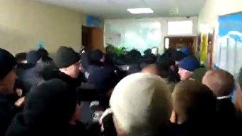 Потасовка в суде Одессы по делу 2 мая