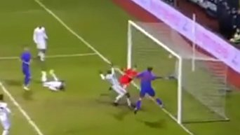 Победный гол Селезнева в матче с Бешикташем чемпионата Турции. Видео
