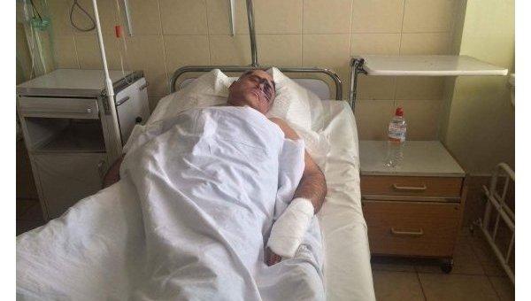 Феликс Сигал после избиения