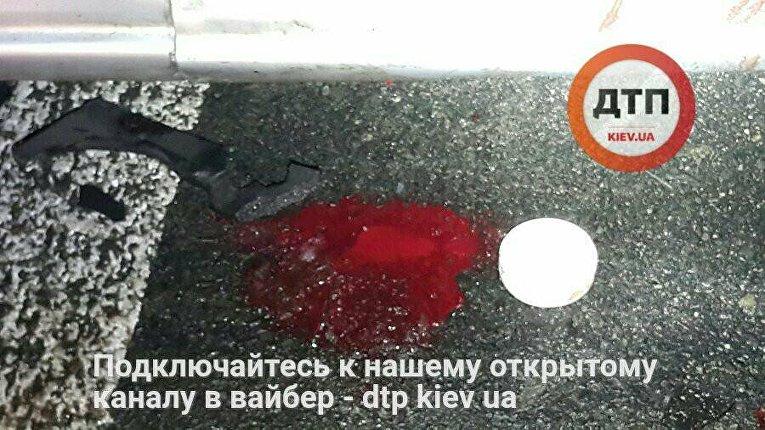 Смертельное ДТП в Киеве на ул. Гетьмана